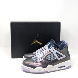 NEW 2019 Nike Air Jordan 4 Retro SE SHIMMER